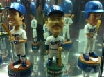 They've got a bobblehead of Kirk Gibson from his Dodgers days.