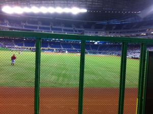 View from the Clevelander.